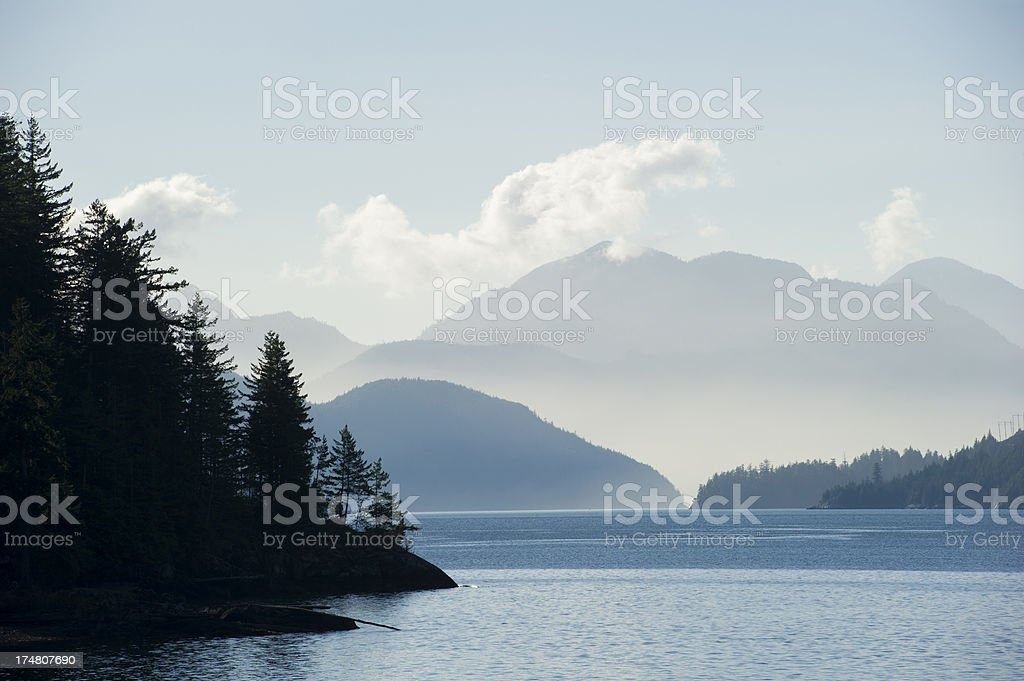 Howe Sound stock photo