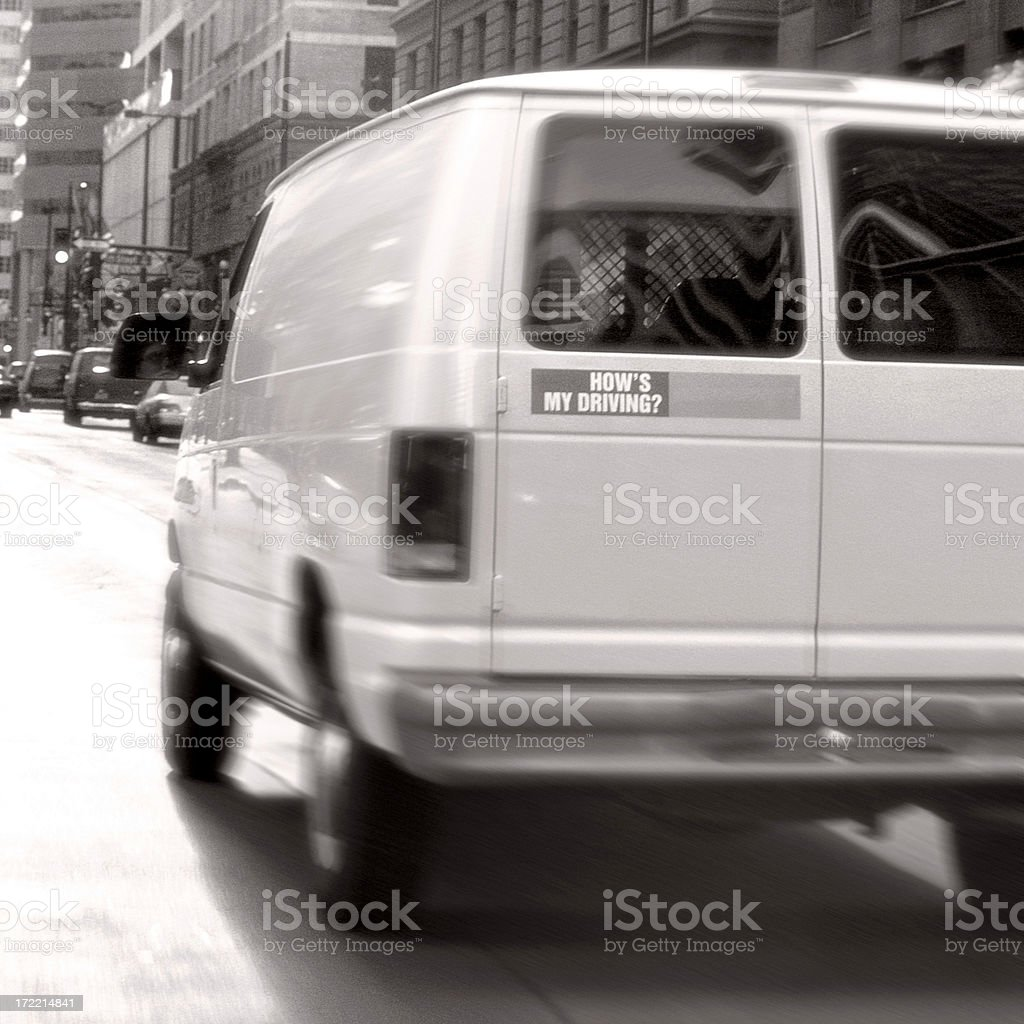 How's My Driving royalty-free stock photo
