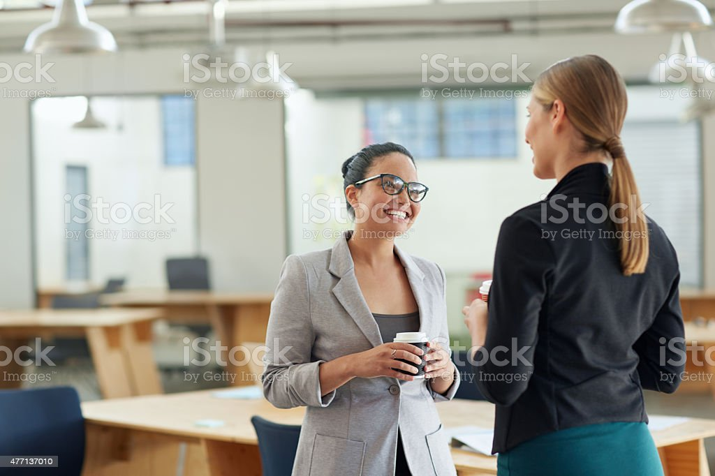 How's your work on that business proposal going? stock photo