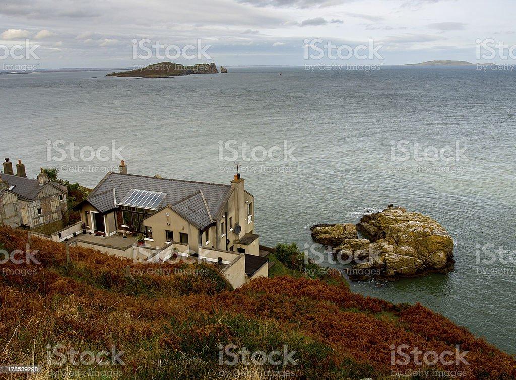 Howth Cliffs. Ireland. royalty-free stock photo