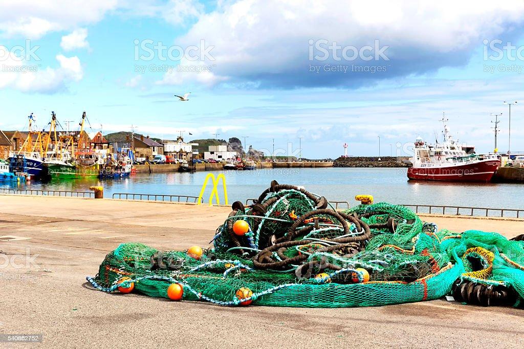 Howth harbor, Howth ( Dublin) stock photo