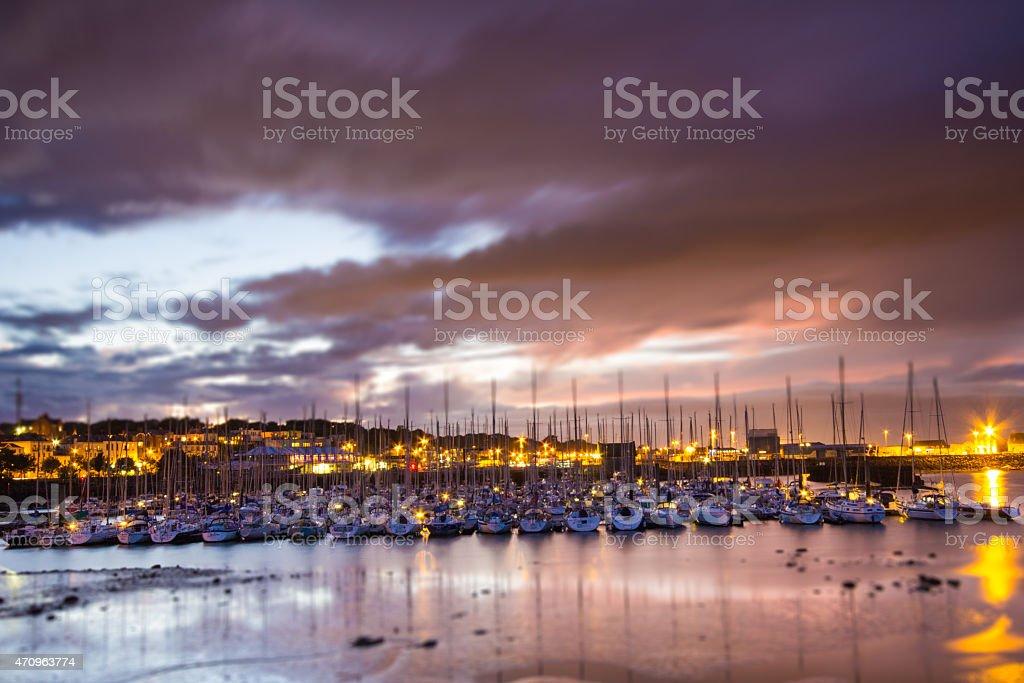 Howth, Ireland stock photo