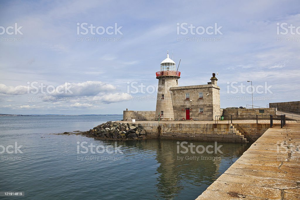 Howth Lighthouse stock photo