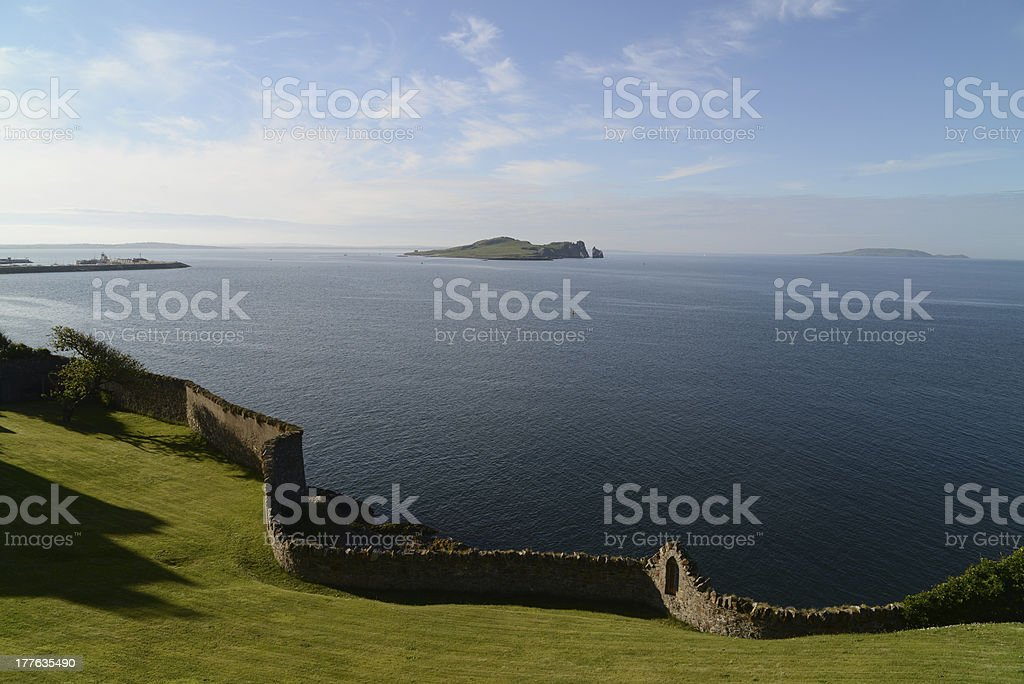 Howth panorama royalty-free stock photo