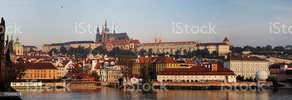 Hradcany panorama royalty-free stock photo