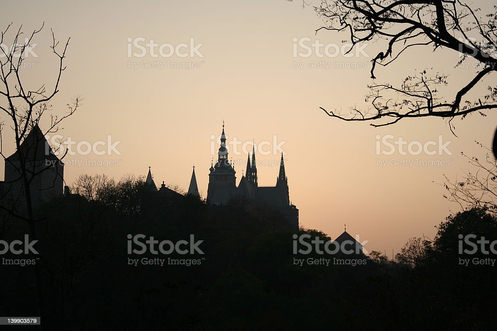 hradschin royalty-free stock photo
