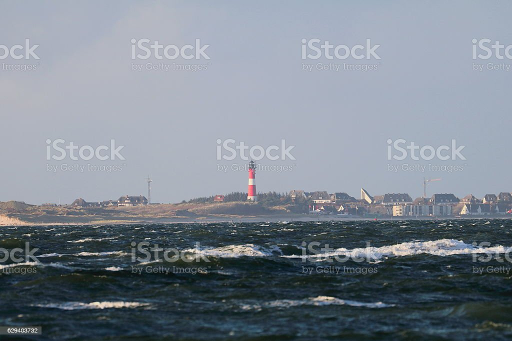 Hörnum / Sylt stock photo