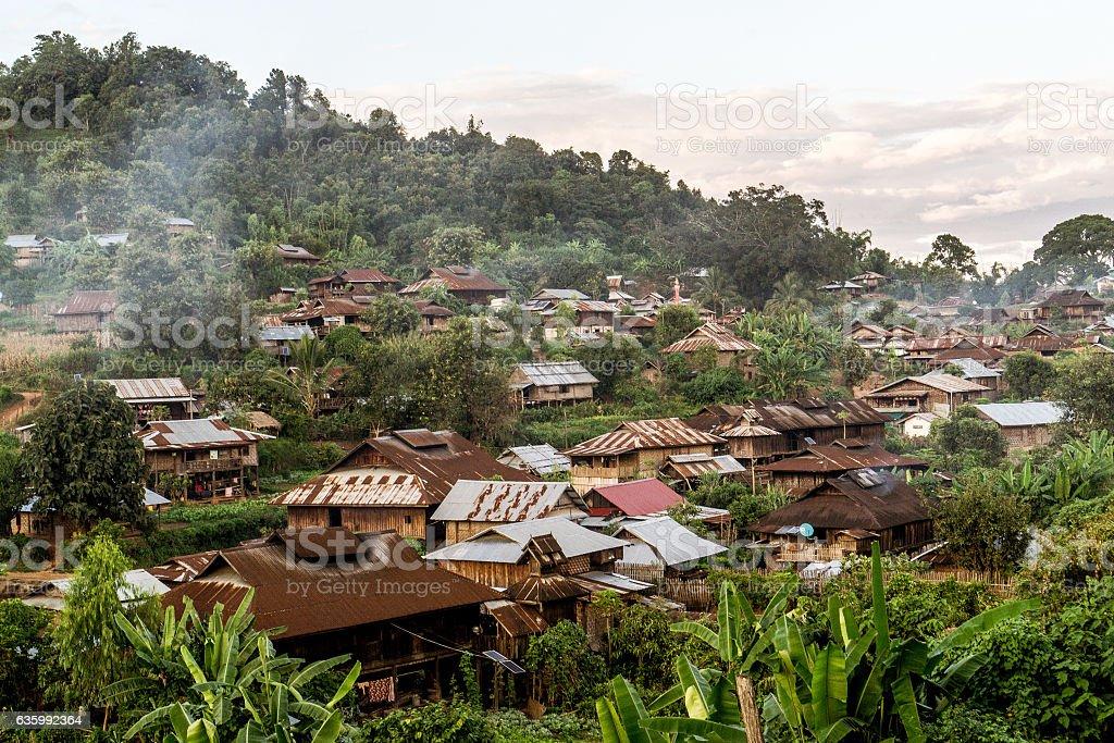 Hsipaw, Myanmar stock photo