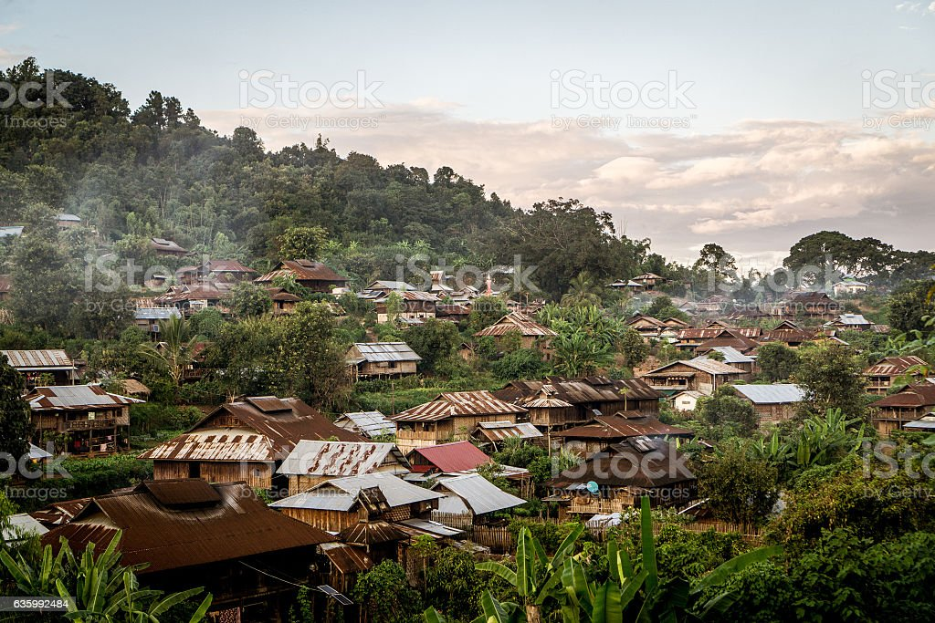 Hsipaw, Myanmar stock photo
