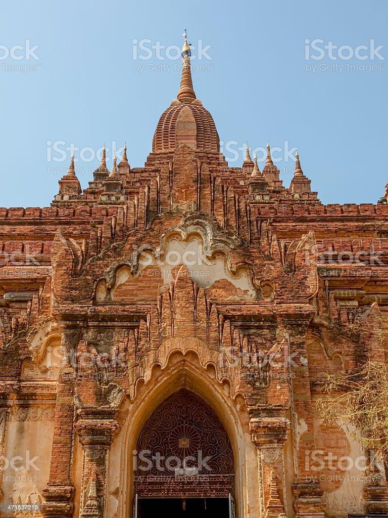 Htilominlo Temple Bagan royalty-free stock photo