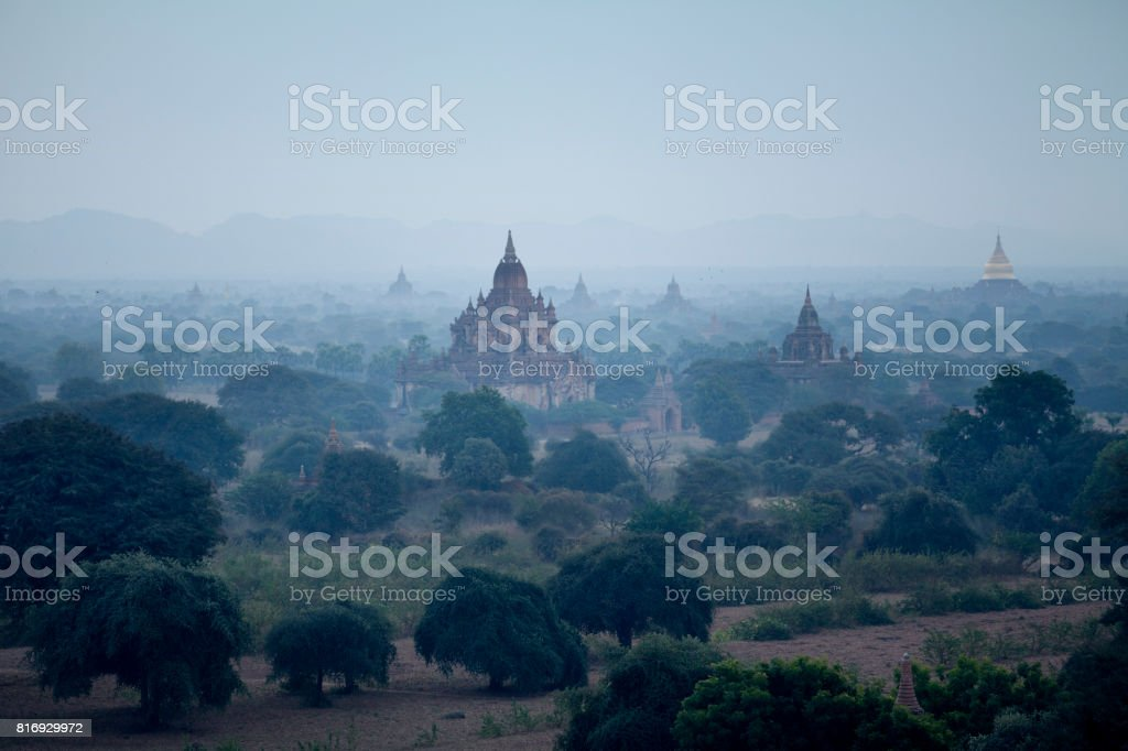 Htilominlo Temple Bagan stock photo