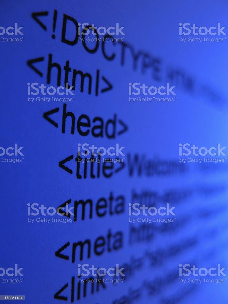 html royalty-free stock photo
