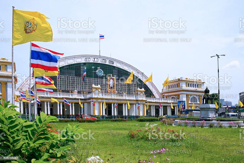 Hua Lamphong Station stock photo