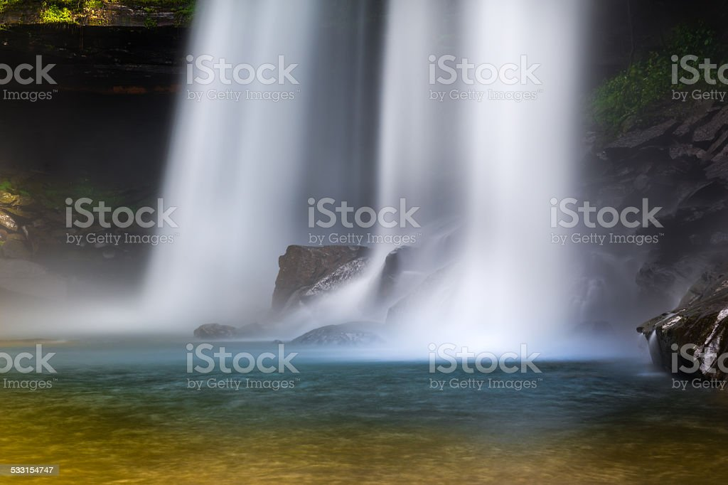 Huai Luang Waterfall stock photo