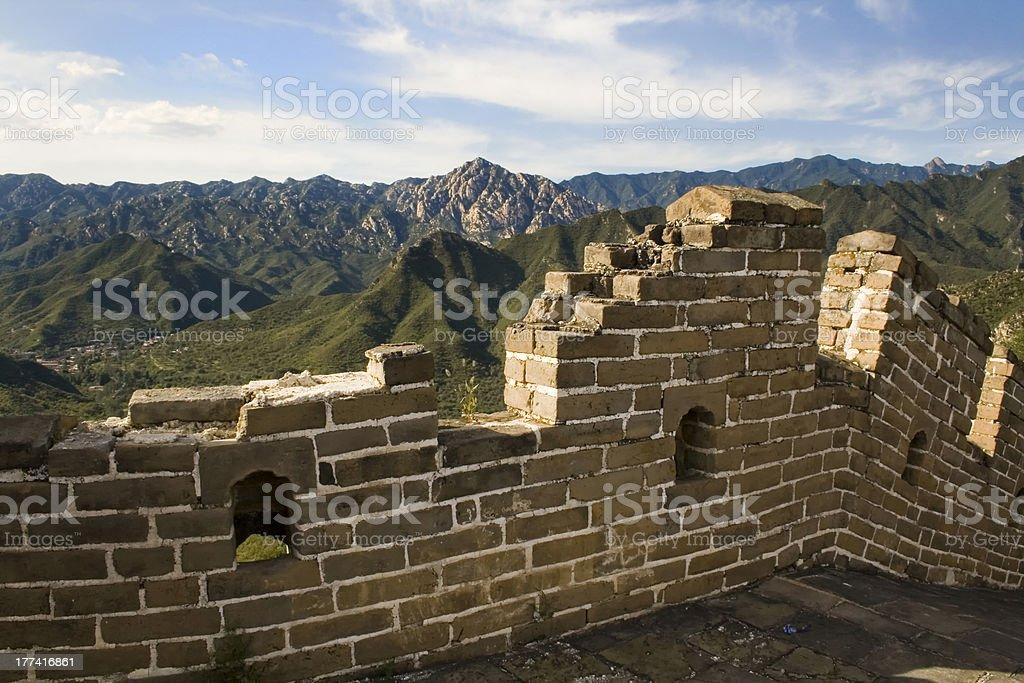 huanghua Great Wall Beijing China stock photo
