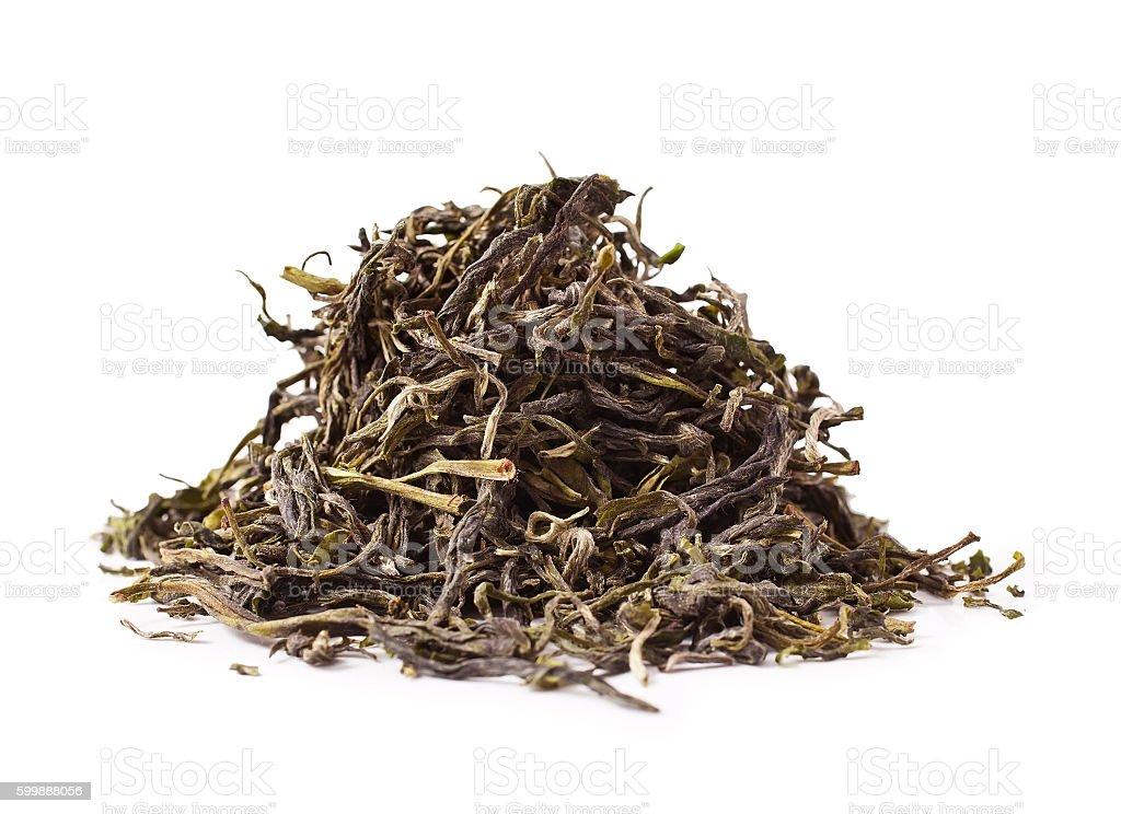 Huangshan Maofeng green tea stock photo