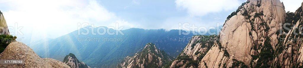 Huangshan Mountain stock photo