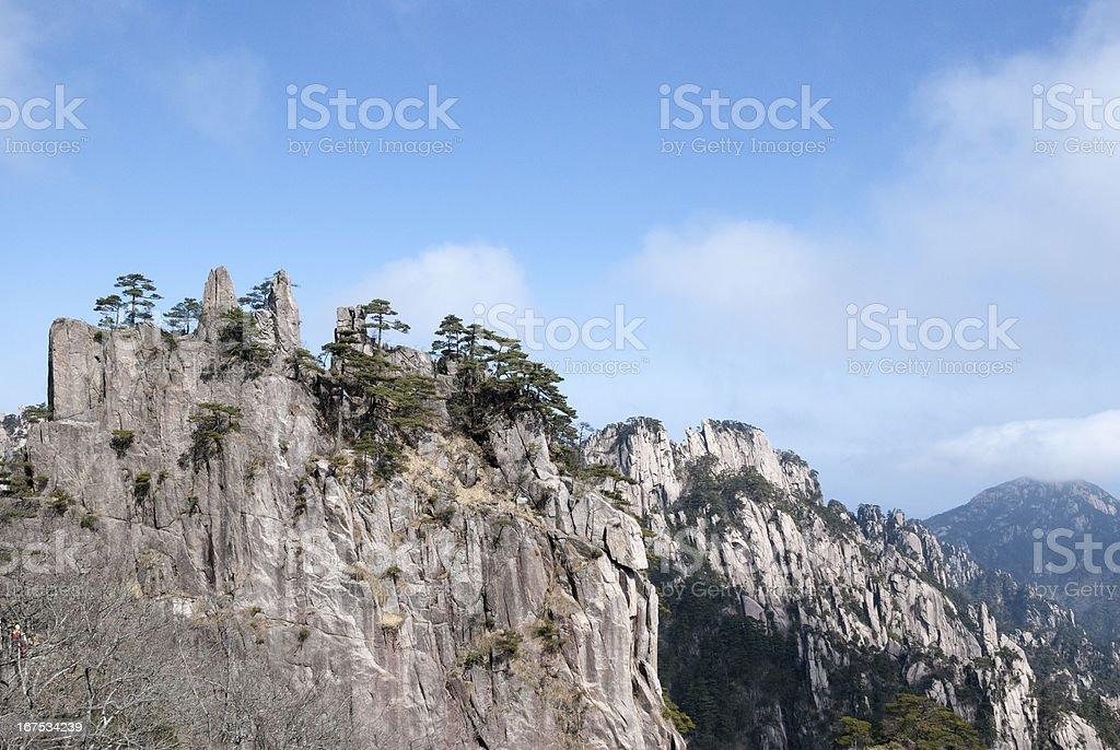 Huangshan scenery royalty-free stock photo