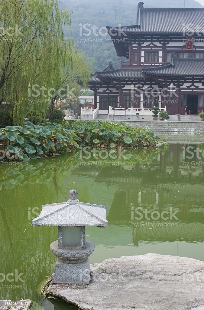 Huaqing Hot Spring royalty-free stock photo