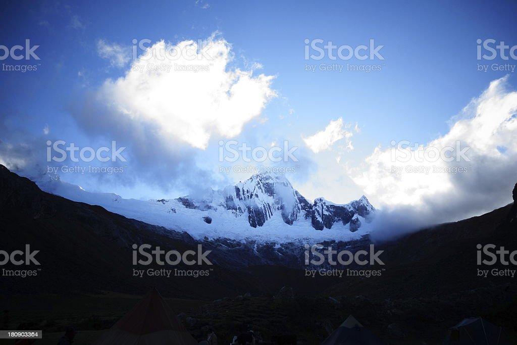Huaraz, Peru royalty-free stock photo