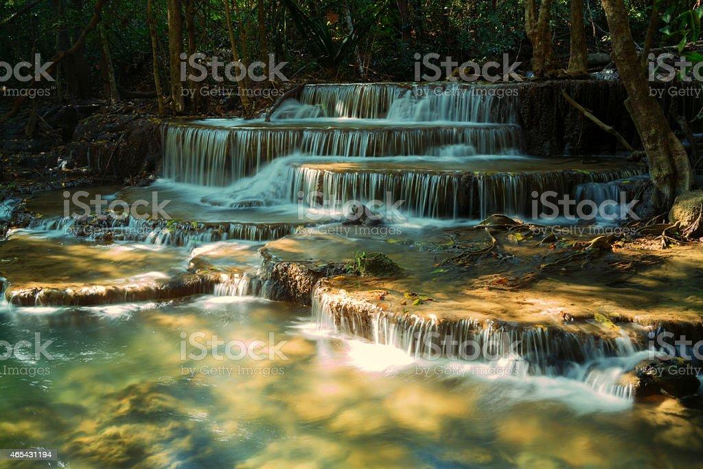 Huay Khamin Cascade Mae photo libre de droits