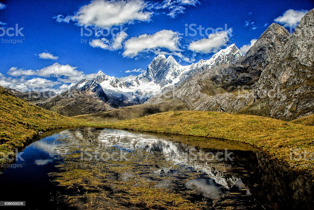 Huayhuash stock photo