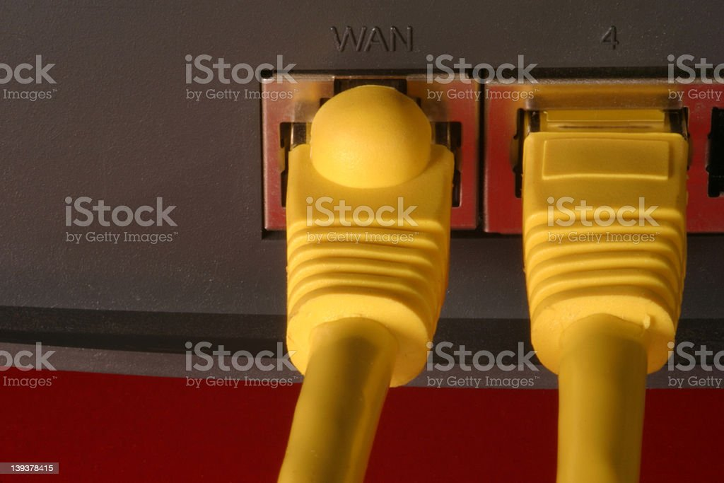 hub router royalty-free stock photo