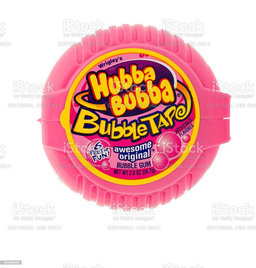 Hubba Bubba Bubble Tape stock photo