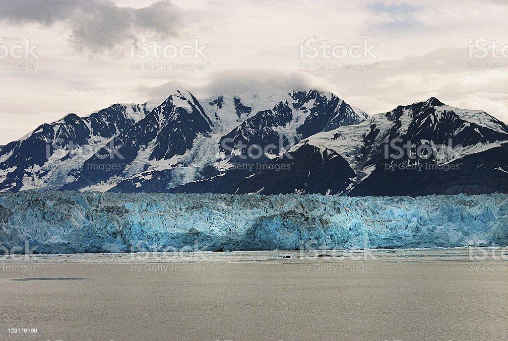 Hubbard Glacier, Alaska stock photo