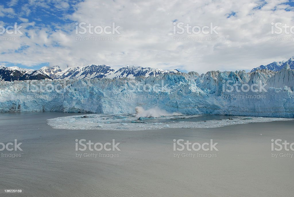 Image result for Ice Breaking Hubbard glacier