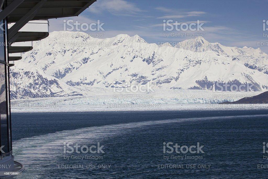 Hubbard Glacier stock photo