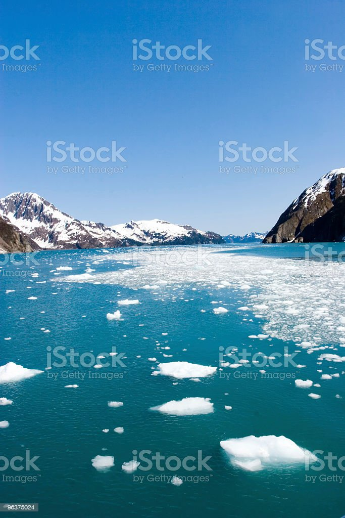 Hubbard Glacier royalty-free stock photo
