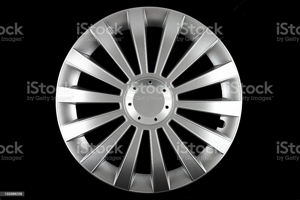hubcap isolated royalty-free stock photo