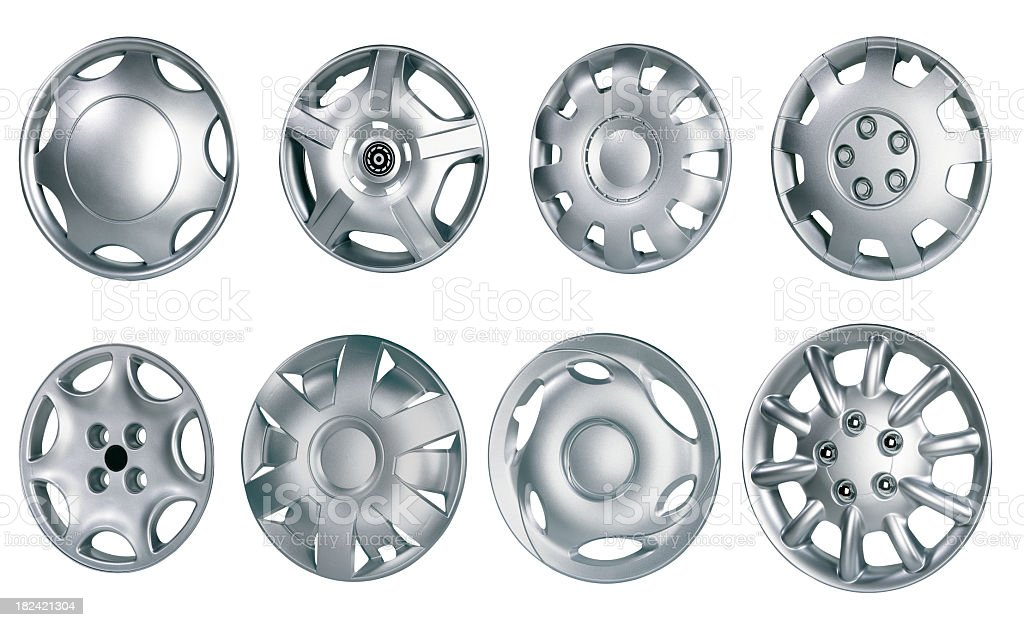 Hubcap stock photo