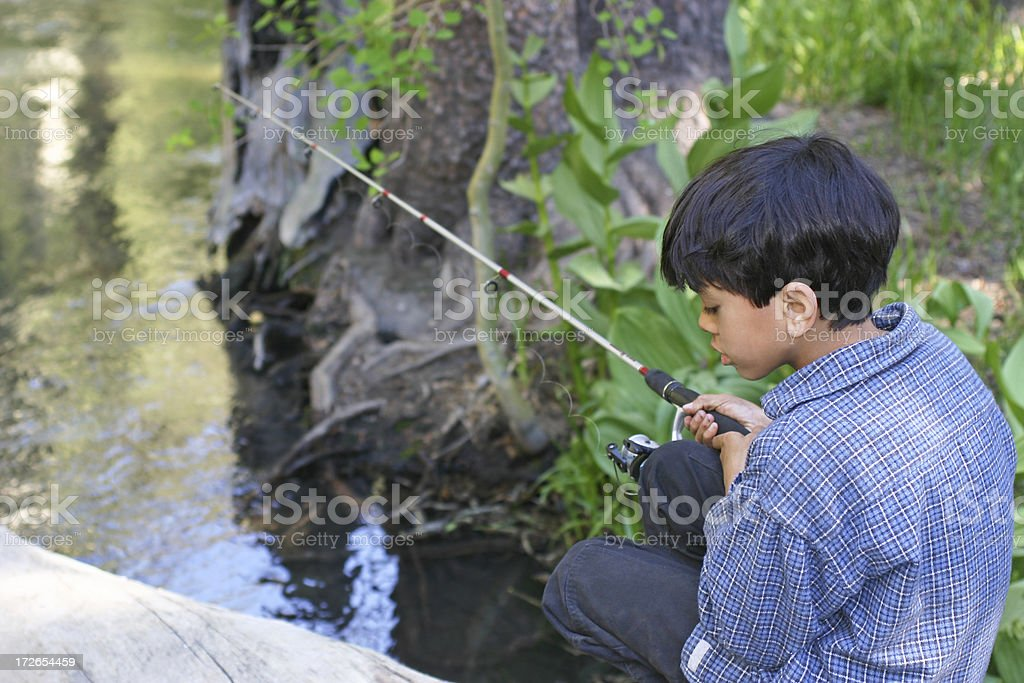 Huck Finn royalty-free stock photo