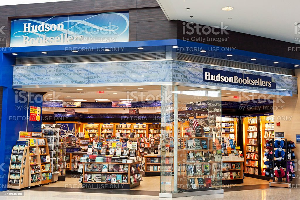 Hudson Booksellers stock photo