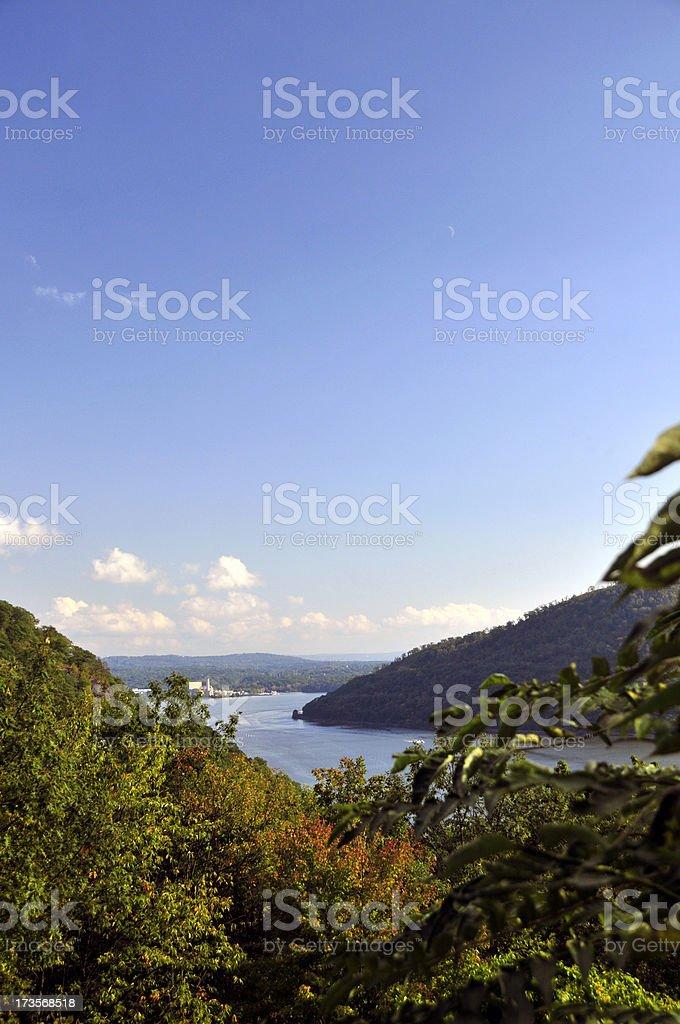 Hudson River Valley stock photo