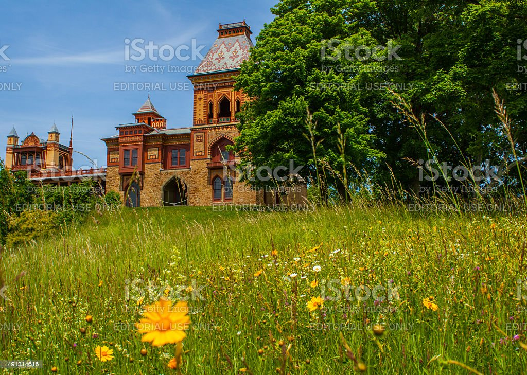 Hudson Valley, NY - Olana Historic Site stock photo