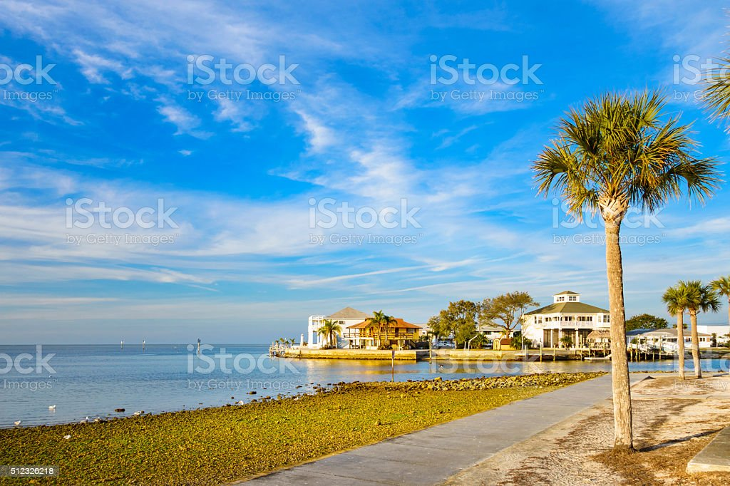Hudson Waterfront New Port Richey Florida USA stock photo