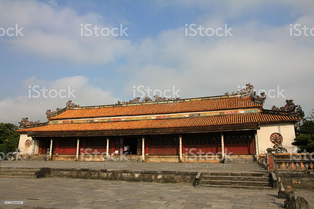 Hue Citadel, Vietnam stock photo