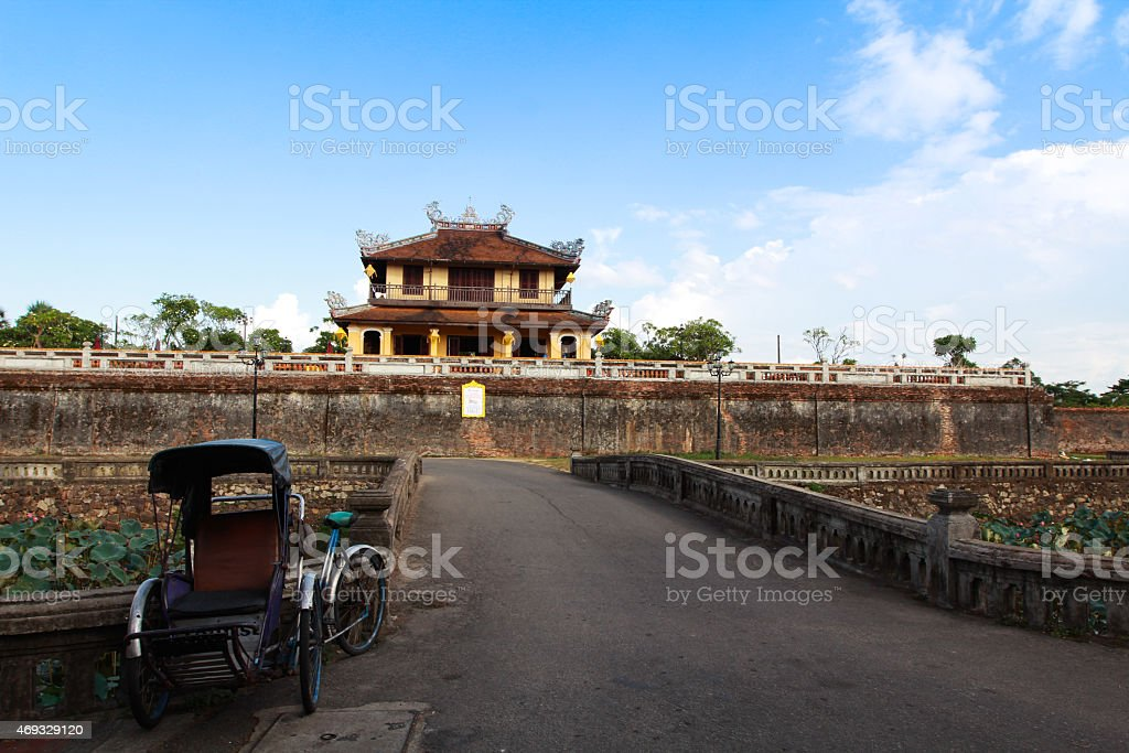 Hue - The Imperial City stock photo