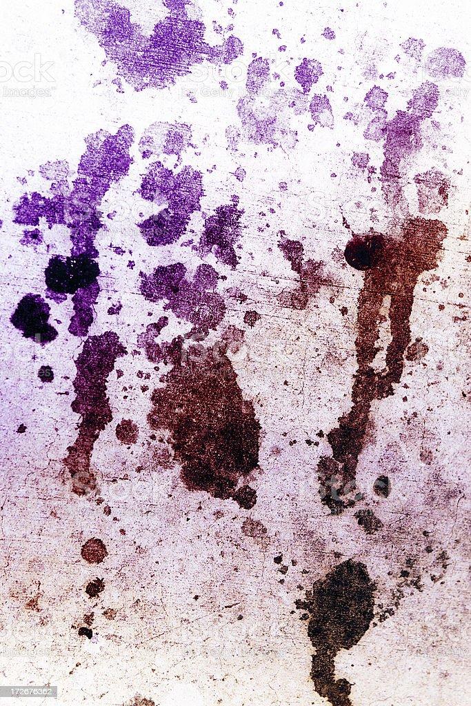 Hued Grunge stock photo