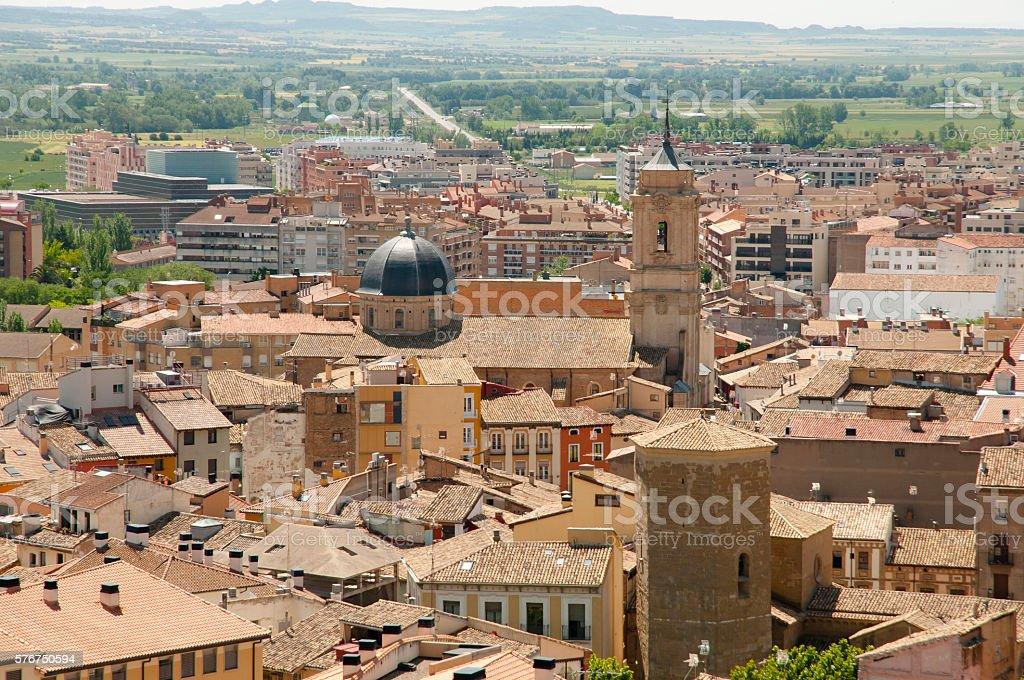 Huesca - Spain stock photo
