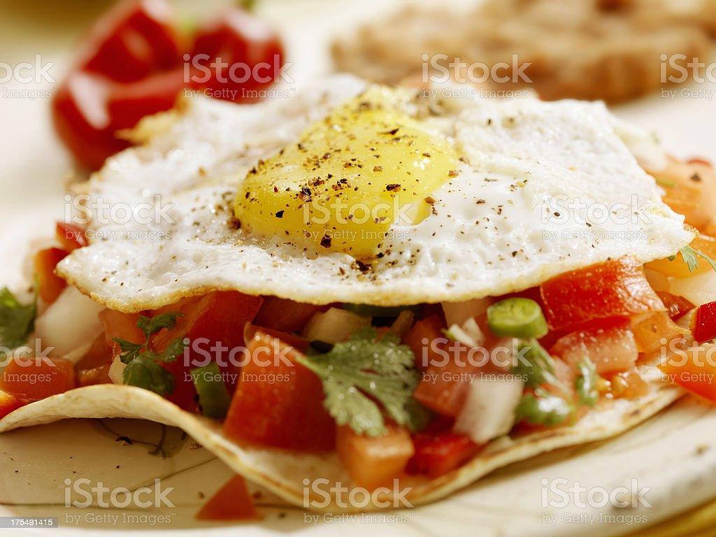 Huevos Rancheros stock photo