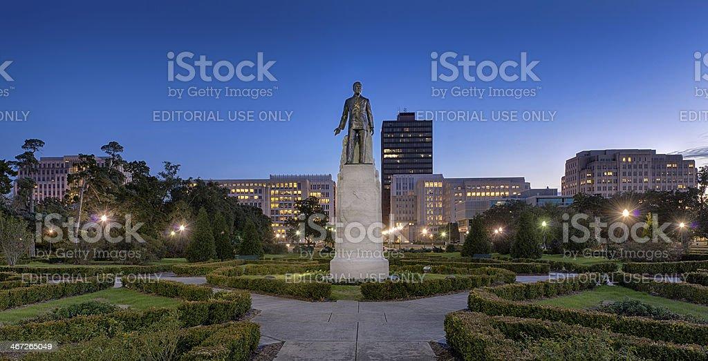 Huey Long Memorial and Gravesite stock photo