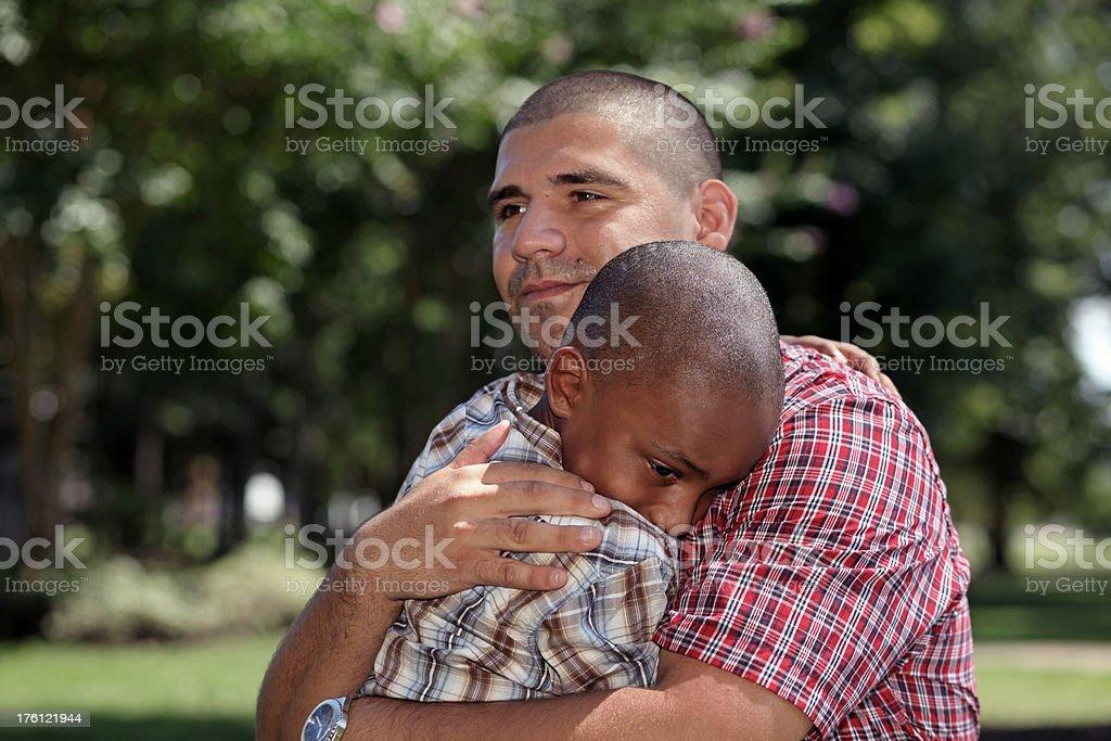 Hug royalty-free stock photo