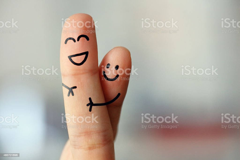 Hug stock photo