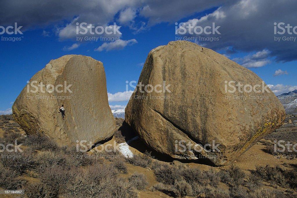 Huge Boulders royalty-free stock photo