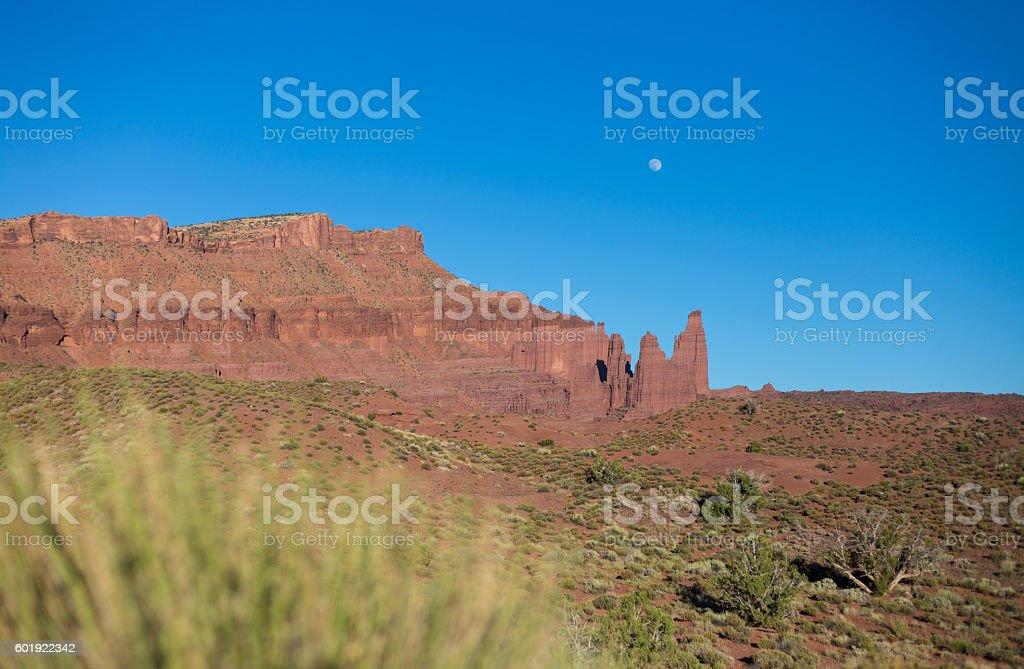 Huge Canyon in Colorado scenic byway Lizenzfreies stock-foto