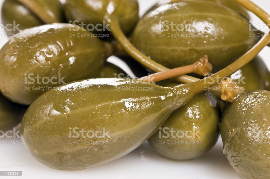 Huge Capers royalty-free stock photo